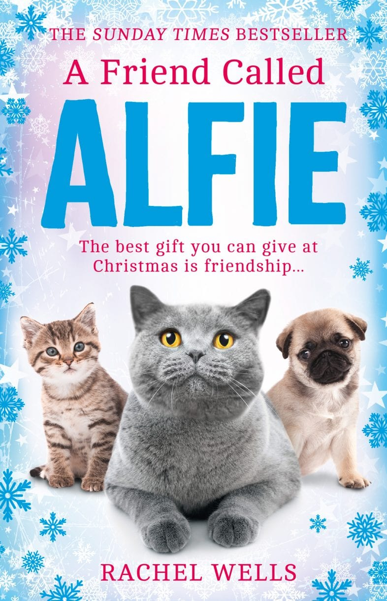 Book Cover - A friend called Alfie